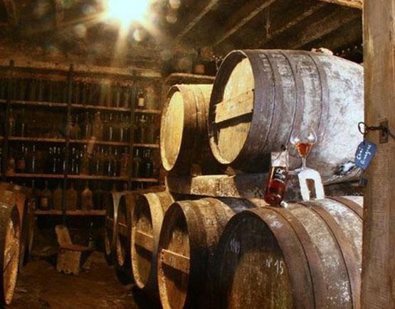 Armagnac-Domaine-de-Lassaubatju-cellar