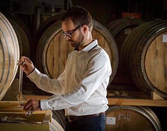 Armagnac-Goudoulin-cellar-master