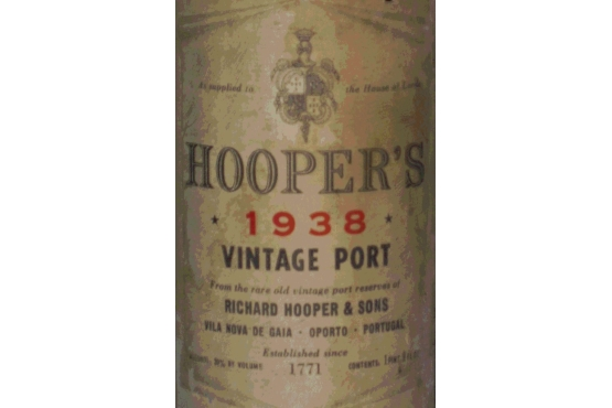 Old Liquors, Richard Hooper, Vintage port