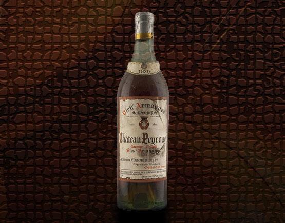Old-Liqours-Armagnac-Peyrouet-1870