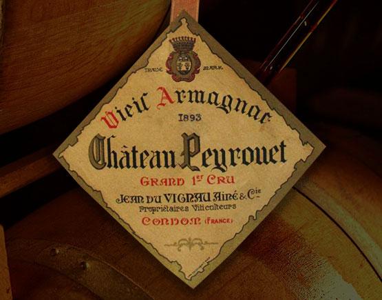 Old-Liqours-Armagnac-Peyrouet-label