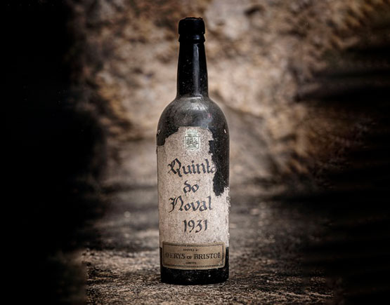 bottle port quinta do noval 1931