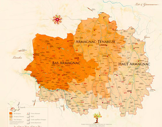 Armagnac-Baron-de-Saint-Feux-Bas-Armagnac_map