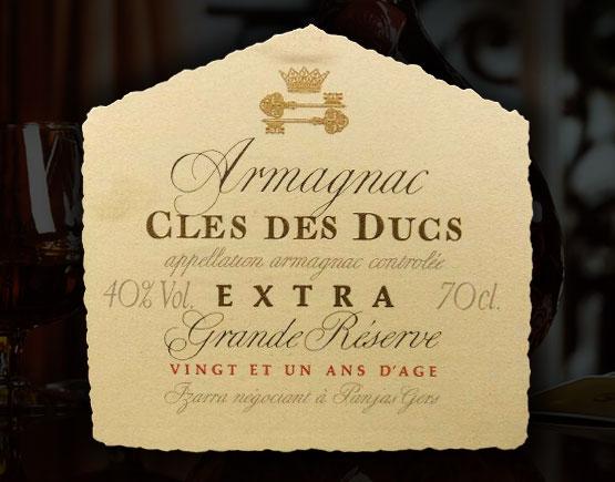 Armagnac-Cle´s-des-Ducs-label