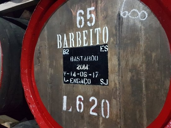 Old Liquors, Barbeito, barrel