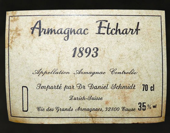 Armagnac-Etchart-label