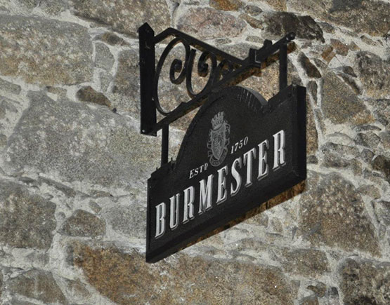 logo burgermester sign