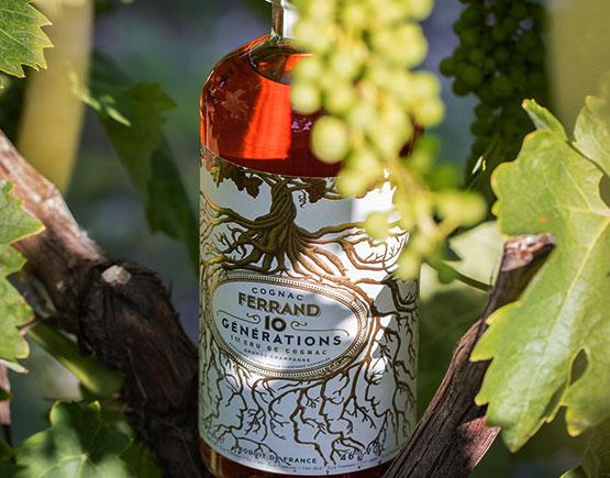 Ferrand bottle cognac