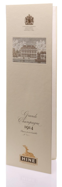 Cognac 1914 Hine Grand Champagne Jarnac aged
