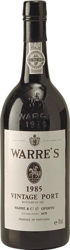 Port 1985 Warre's, Vintage Port (2779)