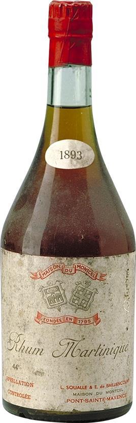 Rum Millesimé 1893 Maison du Montcel (16591)