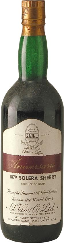 Sherry 1879 El Vino Co (2832)