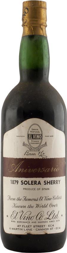 Sherry 1879 El Vino Co (2834)