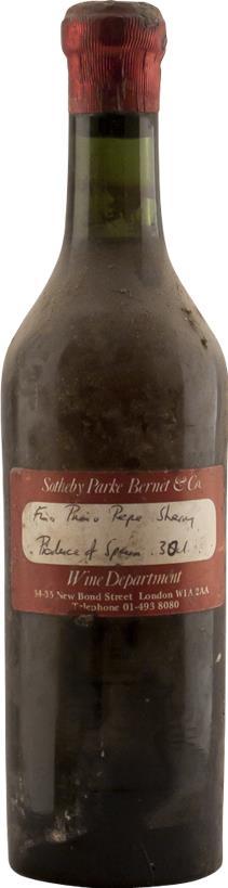Sherry 1925 Marques de Mérito (2860)