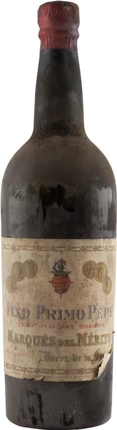 Sherry 1925 Marques de Mérito (2874)