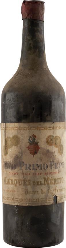 Sherry 1925 Marques de Mérito (2876)