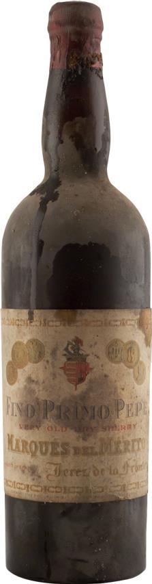 Sherry 1925 Marques de Mérito (2878)