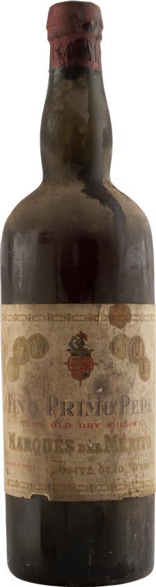 Sherry 1925 Marques de Mérito (2880)