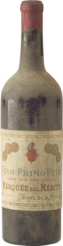 Sherry 1925 Marques de Mérito (2881)