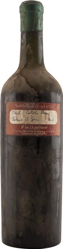 Sherry 1930 Marques de Mérito (2887)