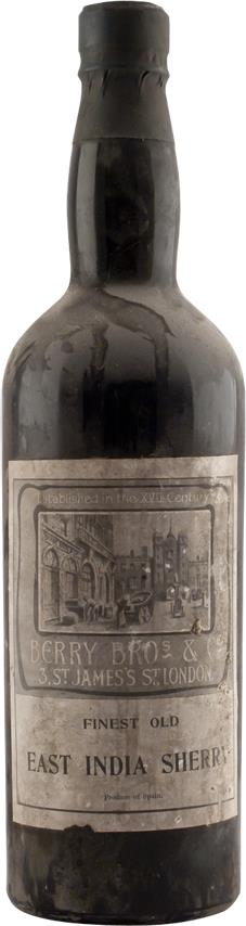 Sherry 1954 Berry Brothers & Rudd (2896)