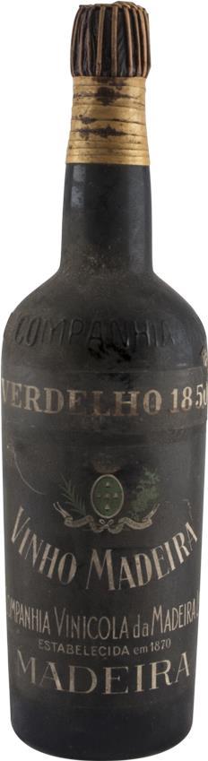 Madeira 1850 Companhia Vinicola da Madeira, Verdelho (2938)