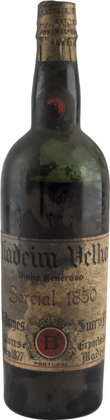 Madeira 1850 Borges H.M. Sercial Dry (2949)