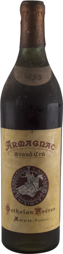 Armagnac 1893 Ortholan Freres (2957)