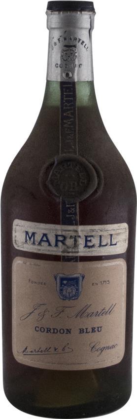 Cognac Martell J & F. Cordon Bleu Spring Cap 1950s (2962)