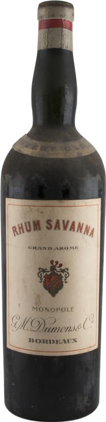 Rum Savanna Very Old 1950s (2970)