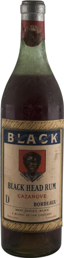 Rum Black Head 1920s