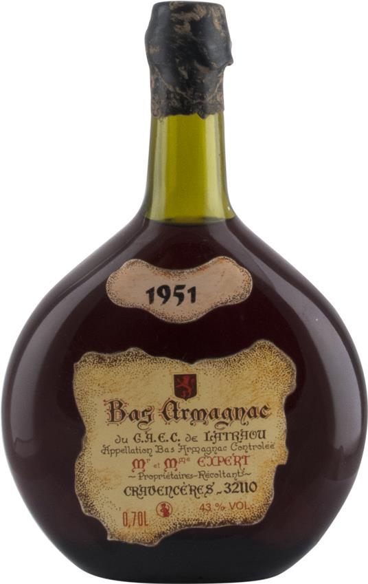 Armagnac 1951 du G.A.E.C. de Latraou (2975)
