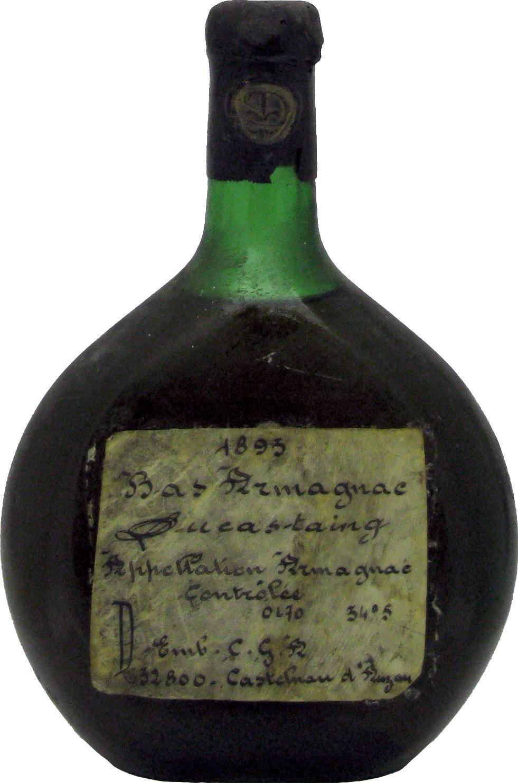 Armagnac 1893 Ducastaing (20825)