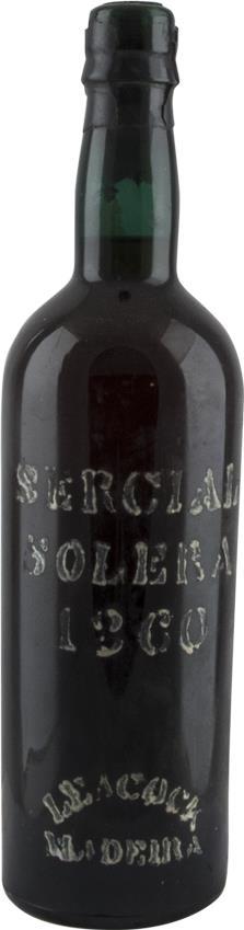 Madeira 1860 Leacock's, Solera Sercial (3082)