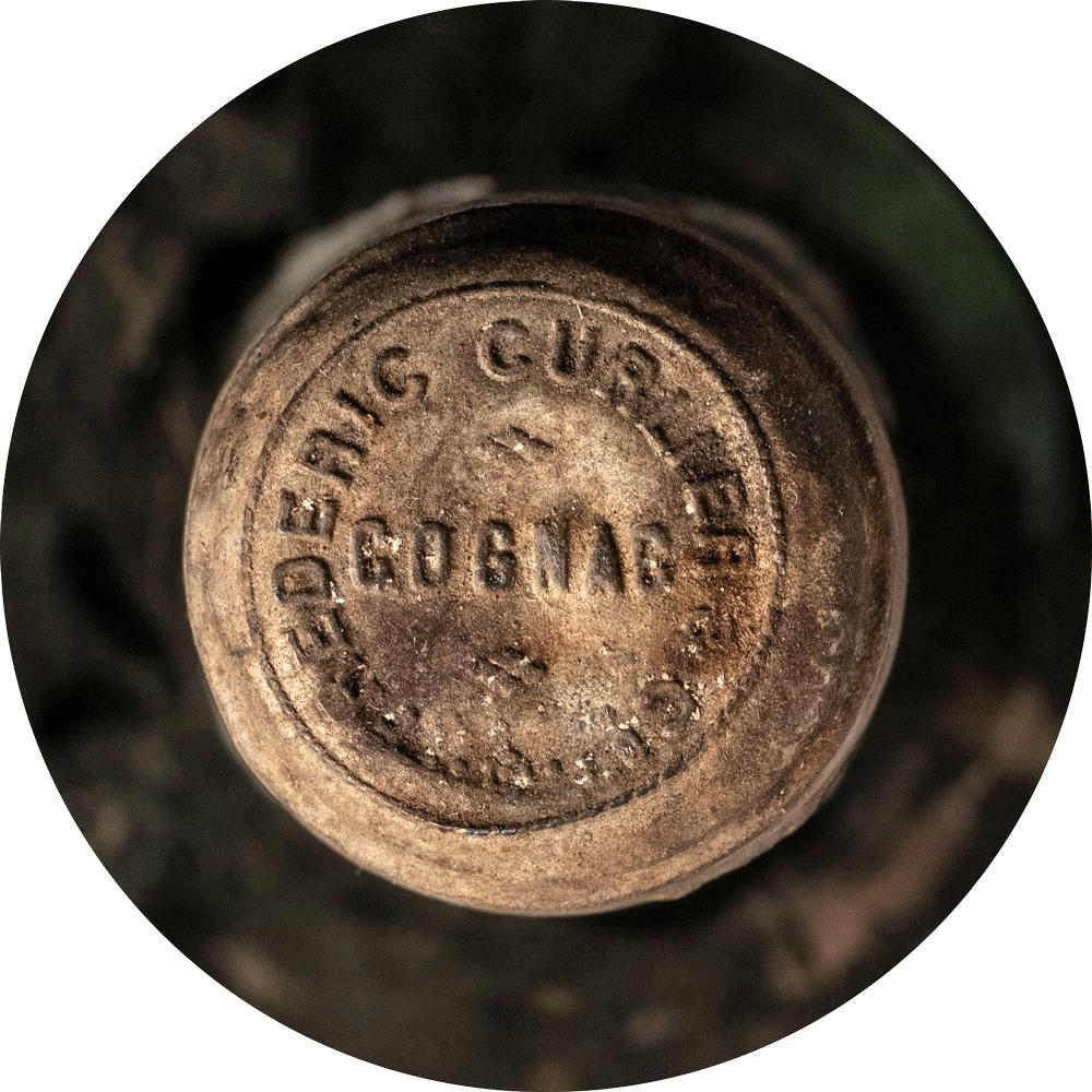 Cognac 1868 Frederic Curlier