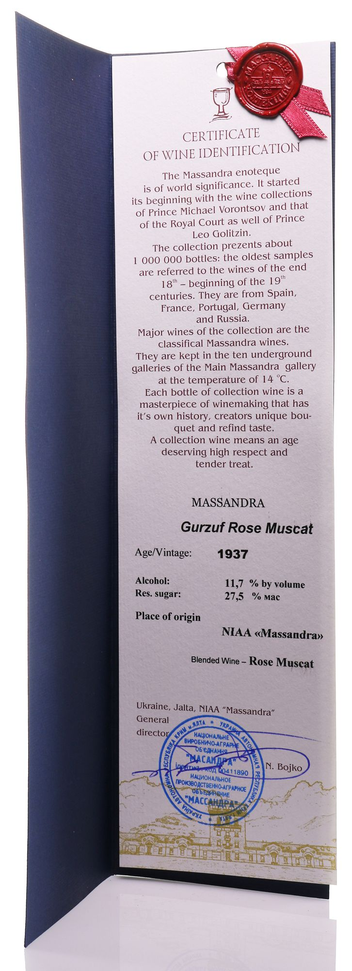 Massandra Gurzuf Rose 1937