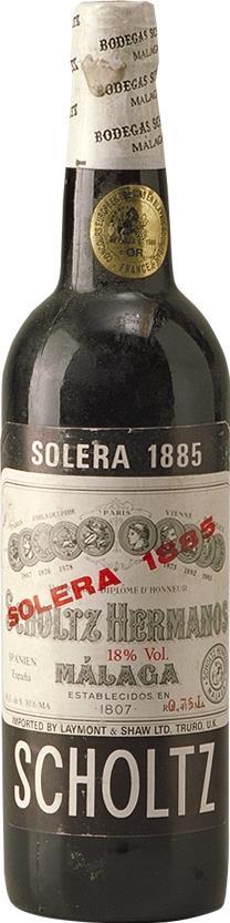 Malaga 1885 Scholtz Hermanos (3162)
