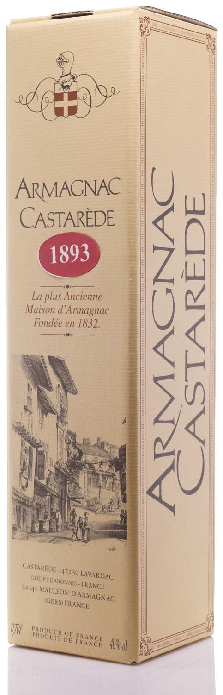 Armagnac 1893 Castarède