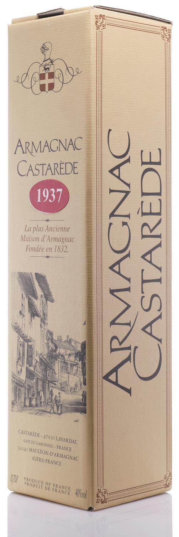 Armagnac 1937 Castarède