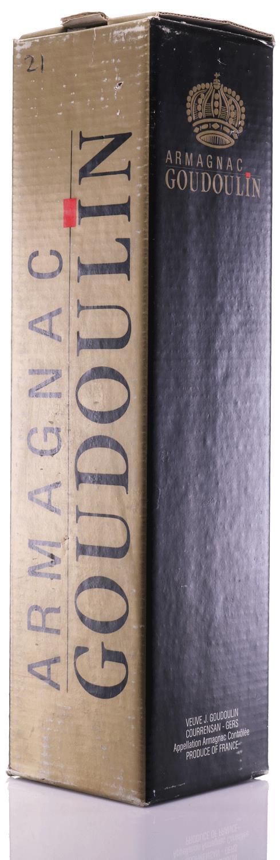 Armagnac 1921 Goudoulin Veuve J.