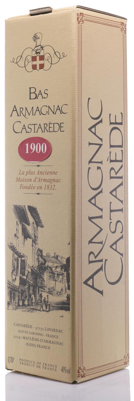 Armagnac 1900 Castarède