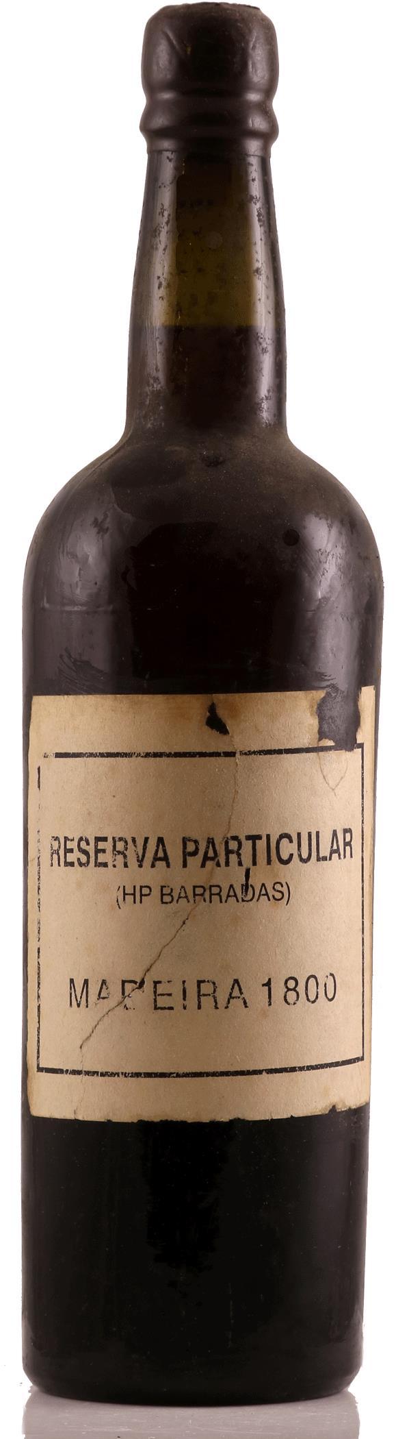 Madeira 1800 HP Barradas