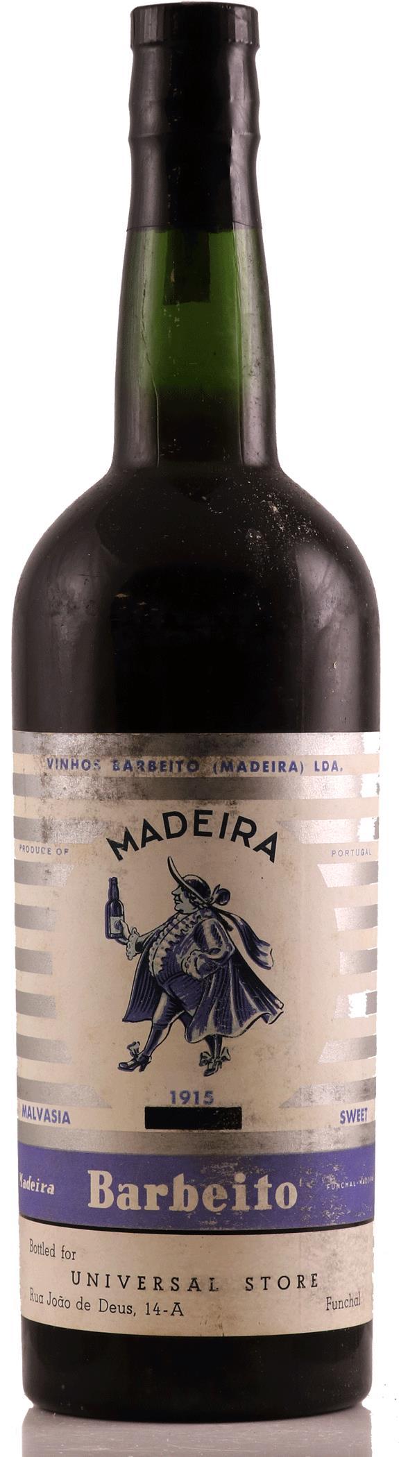 Madeira 1915 Barbeito