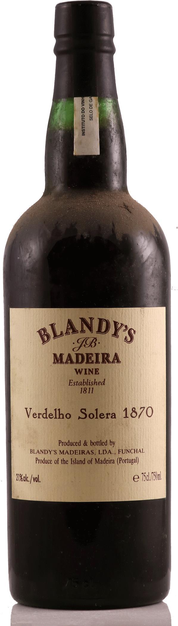Madeira 1870 Blandys