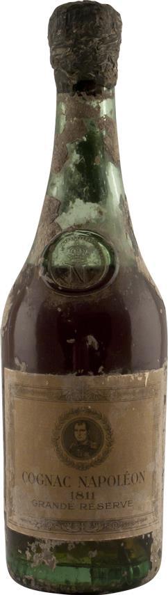 Cognac 1811 Napoléon,  Imperial glass shoulder (3187)