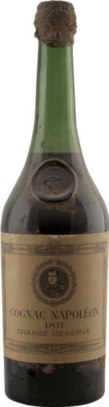 Cognac 1811 Napoléon, Grande Réserve, Imperial glass shoulder button 'N' (3215)