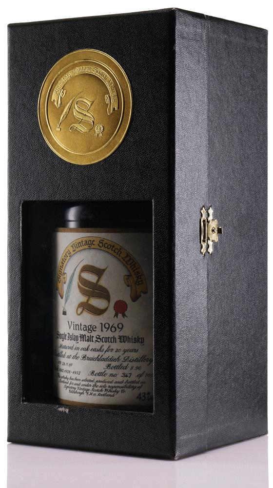Whisky 1969 Bruichladdich Signatory