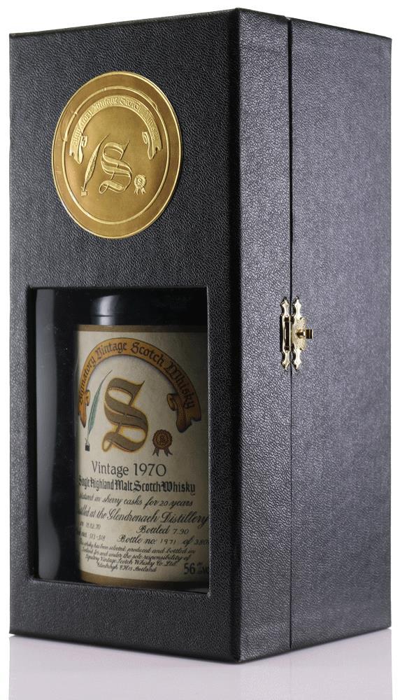 Whisky 1970 Glendronach Signatory