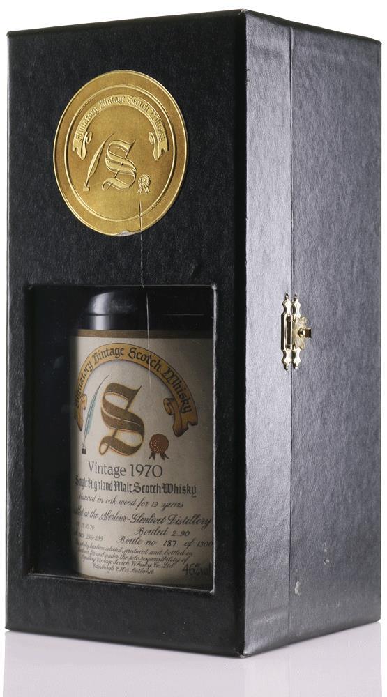 Whisky 1970 Aberlour-Glenlivet Signatory