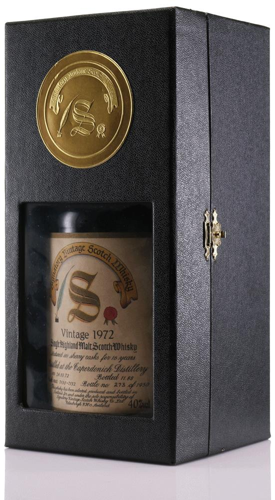 Whisky 1972 Caperdonich Signatory